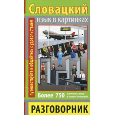 Разговорник в картинках словацкий язык. 750 слов