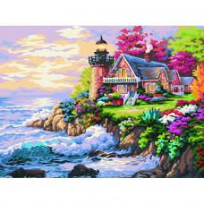Картина по номерам Маленький маяк у дома