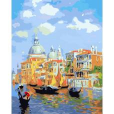 Картина по номерам Лазурь Венеции