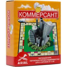 Коммерсант. Настольная игра, обучающая торговле недвижимостью для 2-8 игроков от 11 лет