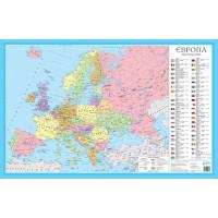 Європа. Політична карта 1:11 000 000. Українська Картографічна Група